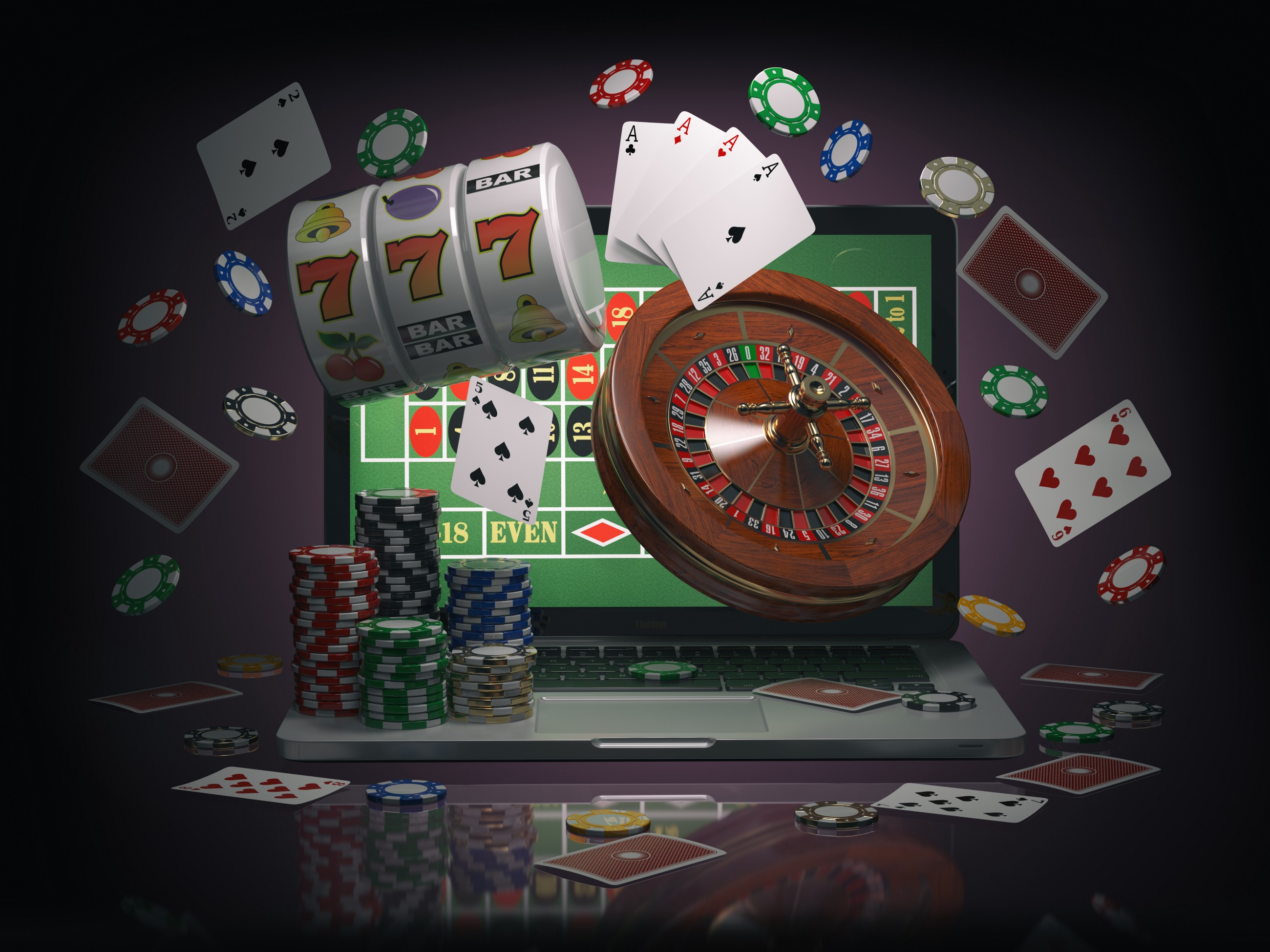a gambling game crossword